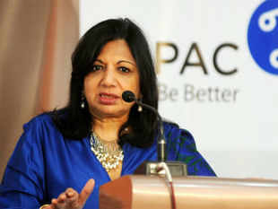 """We have focused on creating key growth drivers and have structured the company along those growth drivers,"" says Kiran Mazumdar Shaw. (BCCL)"