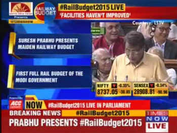 Railway Minister Suresh Prabhu: Under-investment has led to poor development of Indian Railways
