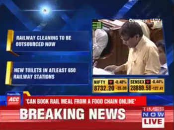Surveillance cameras on select mainline and ladies compartments: Suresh Prabhu