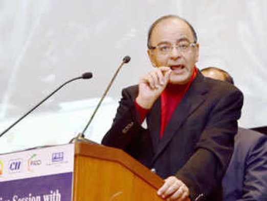"""Finance Minister Arun Jaitley dismissed grumblings about the economy not having taken off as """"cynicism - a way of life in India""""."""