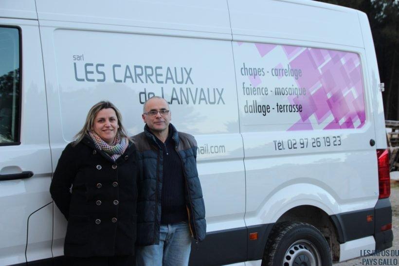 Molac Les Carreaux De Lanvaux Nouvelle Entreprise De Carrelage - L'équipe carrelage