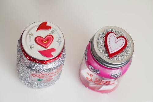 Amour en pot couvercle