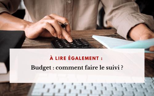 À lire budget suivi