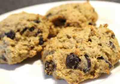biscuits aux pépites de chocolat et pois chiches