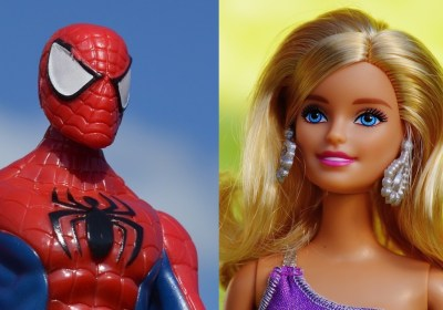 jouets-barbie-spiderman