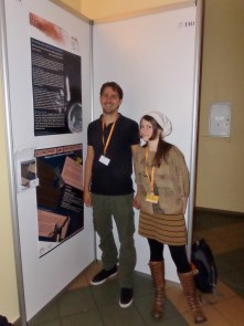 Poster presentations by Arjan Louwen and Leah Powell