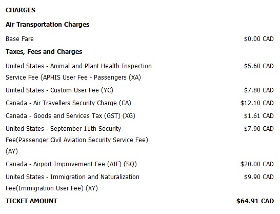 Update on Delta's $0 error fare from Vancouver to Los Angeles