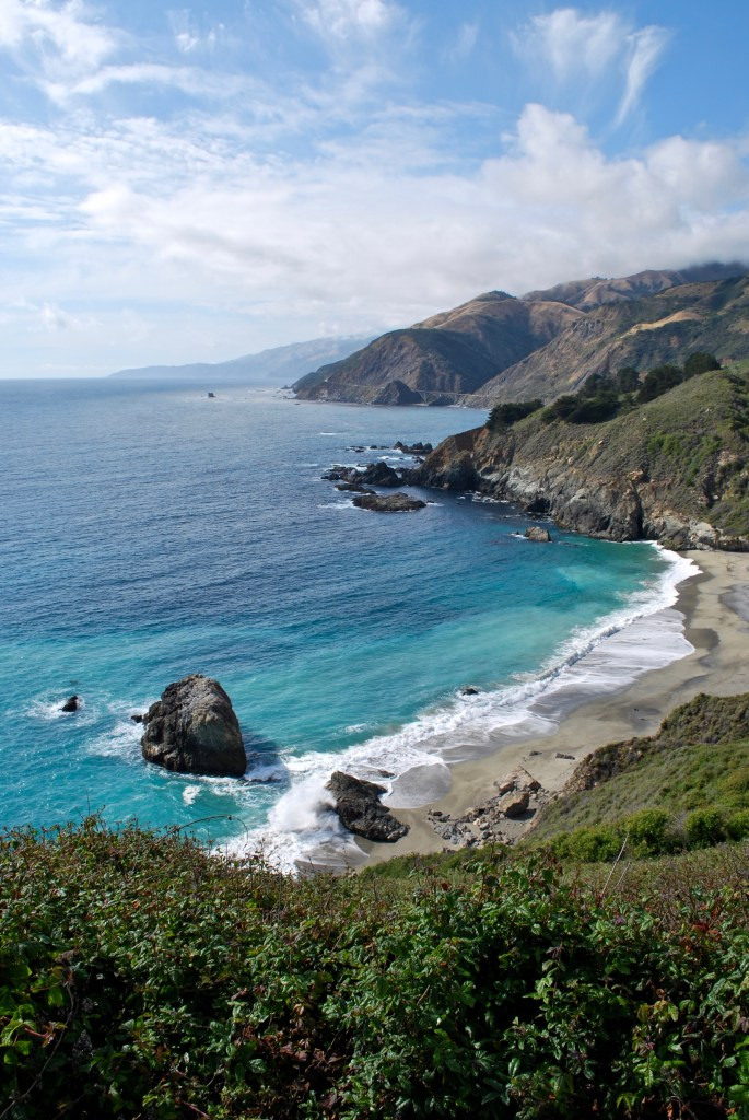 China Basin Beach, Big Sur
