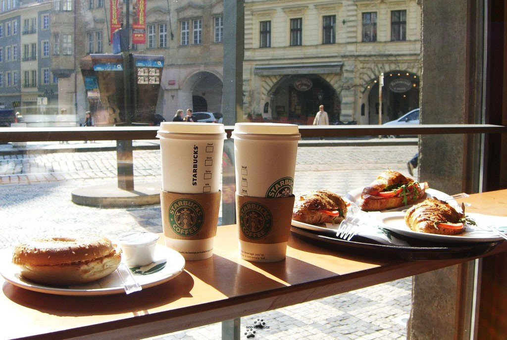 starbucks vs city café