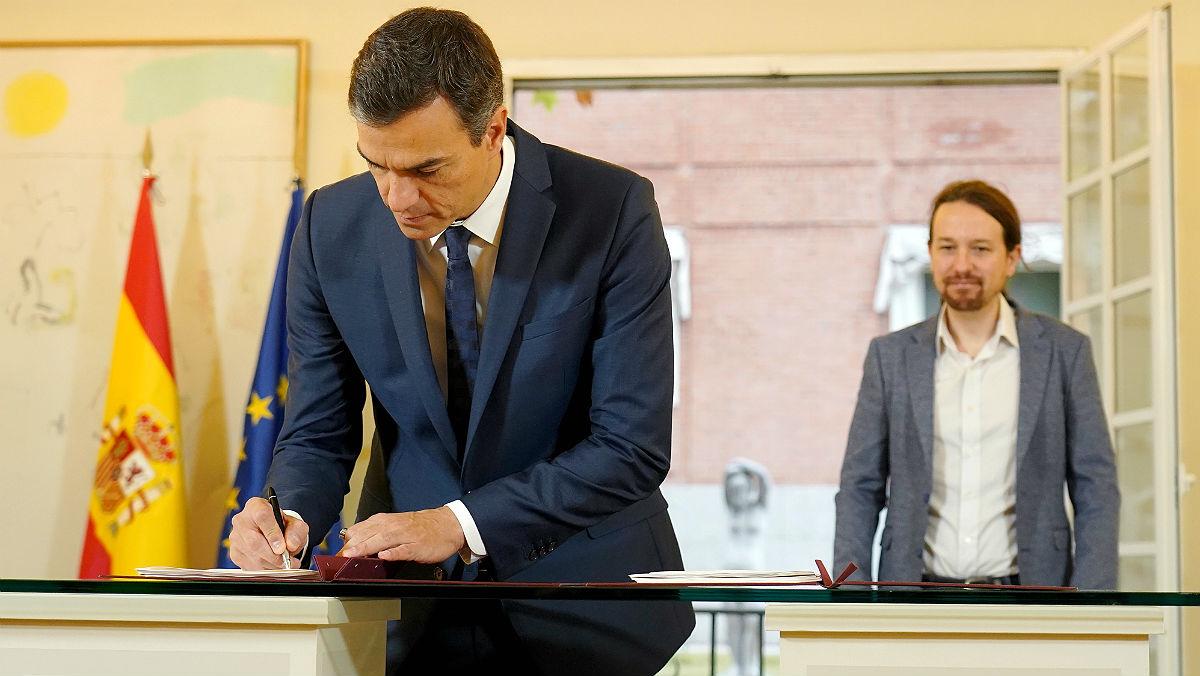 Acuerdo Gobierno-Podemos