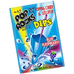 Pop Rocks Dips - Blue Raspberry