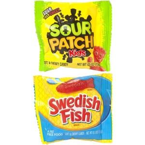 Sour Patch Kids & Swedish Fish - Fun Size Mix