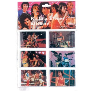 1983 The Rolling Stones Stickers