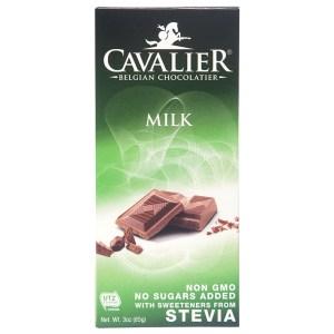 Cavalier - Sugar Free Milk Chocolate Bar