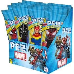 Pez - Marvel - 12 Count Box_New