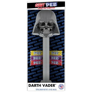 Giant Pez - Darth Vader PEZ 40th Anniversary Empire Strikes Back
