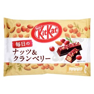 Kit Kat - Milk Chocolate with Almonds and Cranberries - Mini - 16 Piece Bag