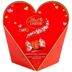 Lindt Lindor Truffles - Milk Chocolate - 2.1oz Gift Heart