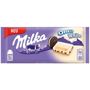 Milka Oreo White - 100g Bar