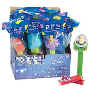 Pez - The Best of Disney and Disney Pixar Collection