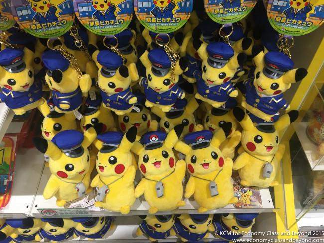 Station Master Pikachu