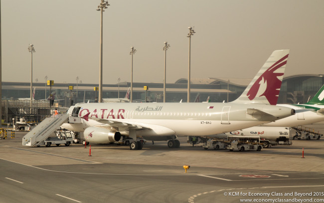 Qatar Airways Airbus A320 - Image, Economy Class and Beyond