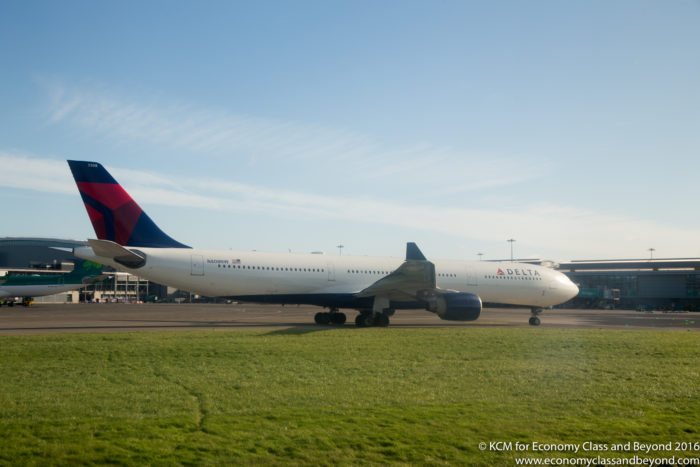 Delta Airbus A330-300 at Dublin Airport - An A330-200 will be used on the JFK-Lagos route - Image, Economy Class and Beyond