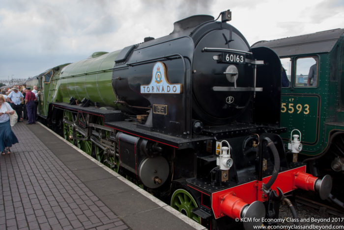 60163 Tornado at Tyseley Locomotive Works - Image, Economy Class and Beyond