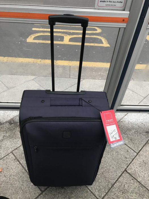 TRIPP Suitcase spinner - this is not smart luggage