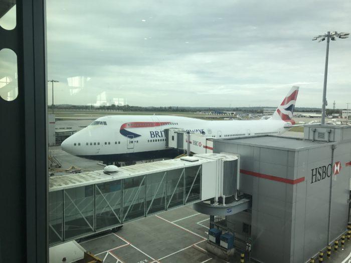 British AIrways boeing 747-400 super hi j