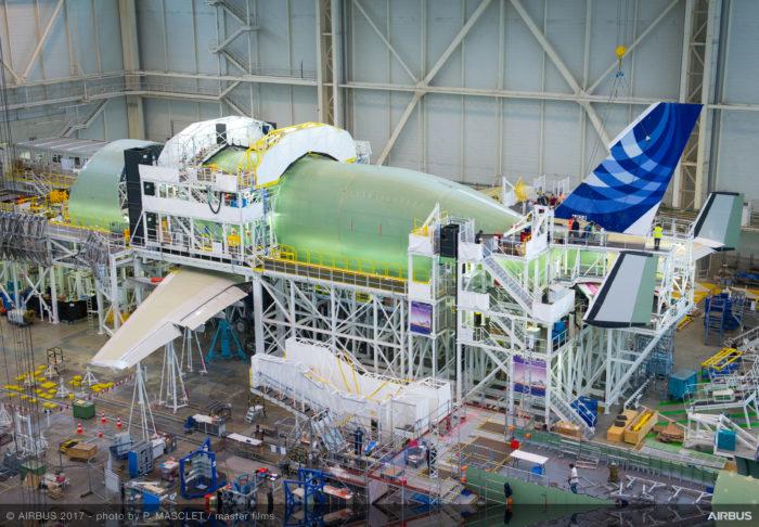 Airbus BelugaXL - VTP-fitting - Image, Airbus
