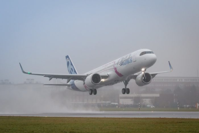 20180131_P3499_A321LR_FF_ML_RAW_0041 Airbus A321LR first flight - Image, Airbus