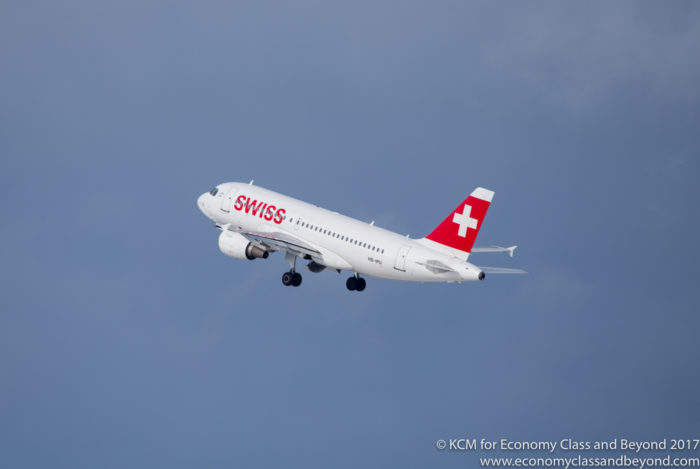 Swiss Airbus A320 - Image, Economy Class and Beyond