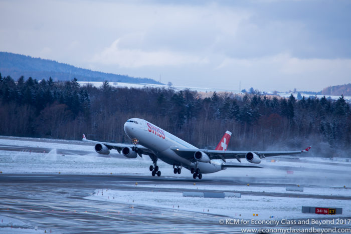 Swiss Airbus A340-300 - Image, Economy Class and Beyond