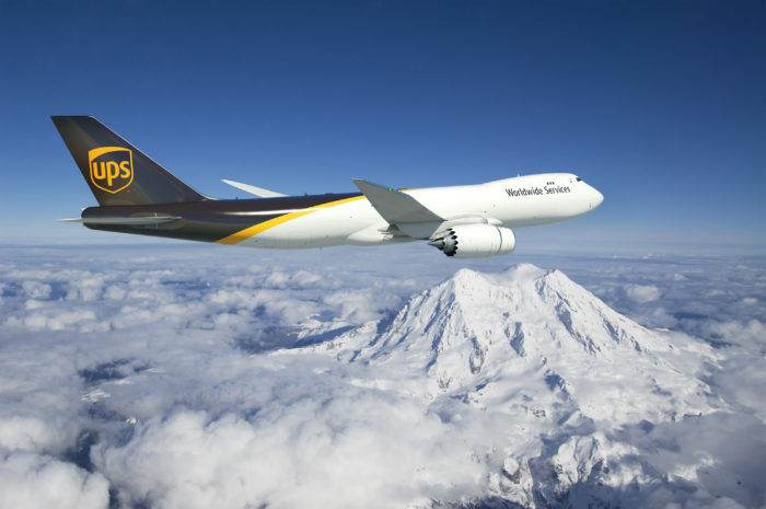 UPS 747-8F First Flight - Image, The Boeing Company