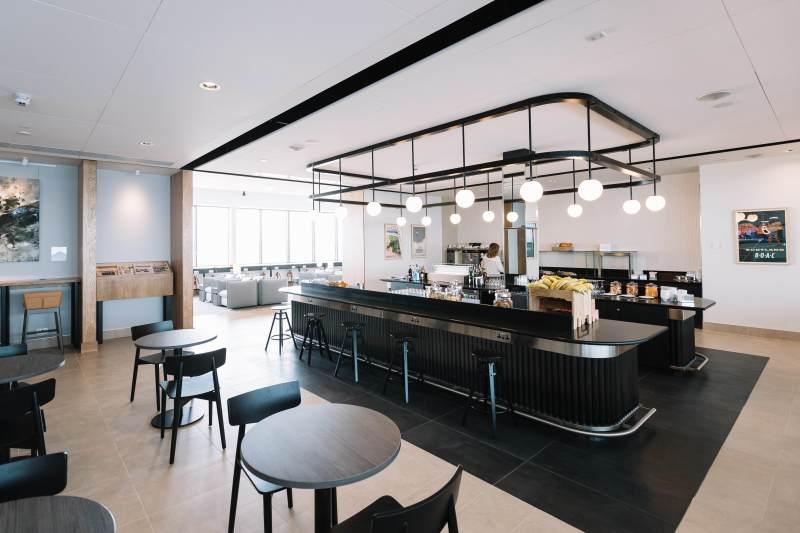 BA Aberdeen Lounge - Image, British Airways
