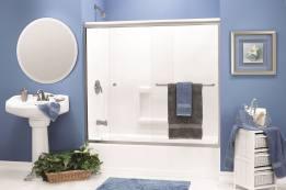 Shower Enclosures - Enclosed Tub