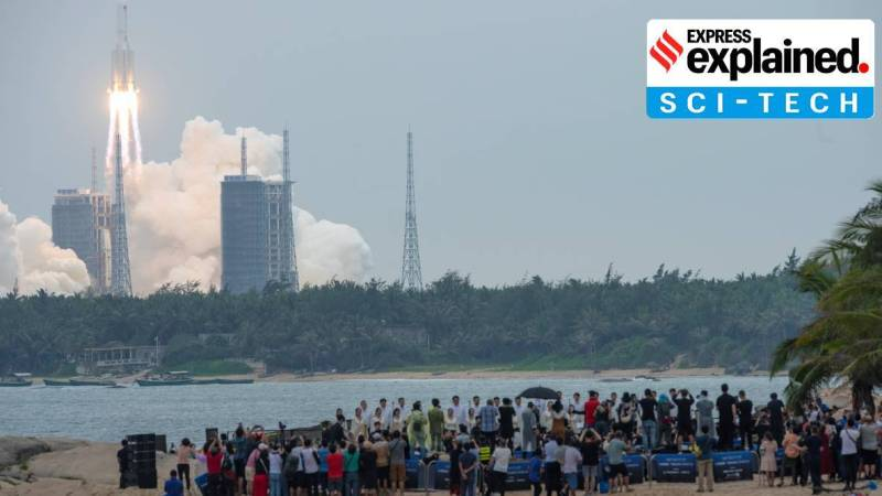 Explained: Why a China rocket crashing in the Indian Ocean has drawn NASA flak