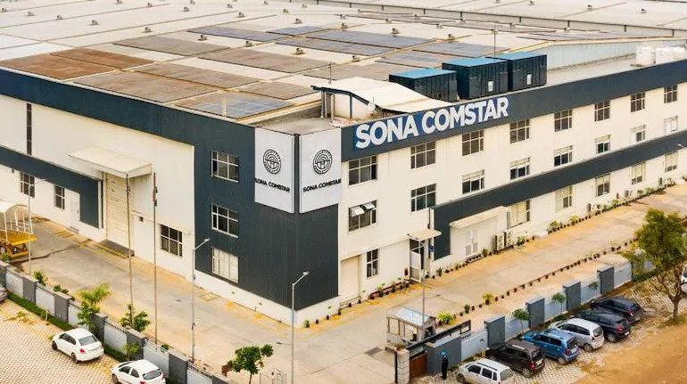 Sona Comstar locked in 20% upper circuit on strong demand after tepid listing