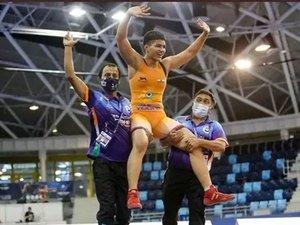 Priya Malik wins gold at World Cadet Wrestling Championships