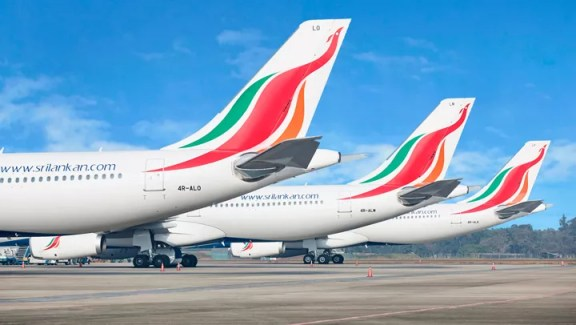 SriLankan Airlines dollar bonds downgraded to 'B-' after sovereign rating  cut | EconomyNext