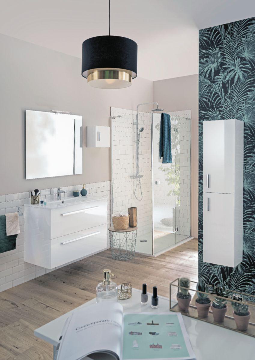 Plan De Toilette Woodstock2 90 Cm En Synthese Vasque Centree Alterna Econostock
