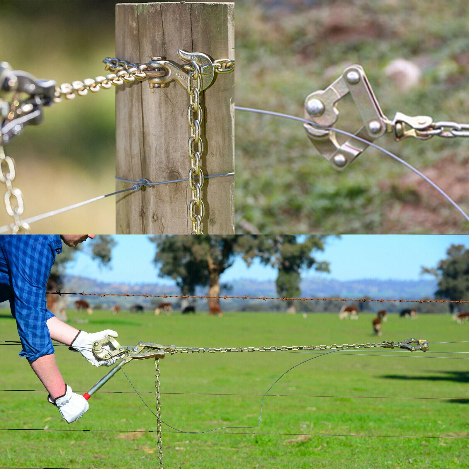 Fencing Chain Strainer Cattle Barn Farm Fence Stretcher Tensioner Repair Barbed Wire Msgconstrutora Com Br