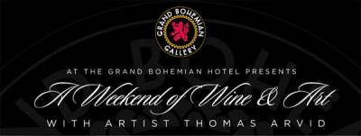 EXCLUSIVE WINE & CIGAR DINNER MEET THE ARTIST GRAND BOHEMIAN GALLERY Florida