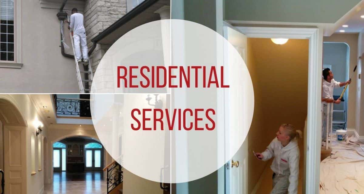 Residential Painting by Toronto House Painters   Ecopainting Residential Painting