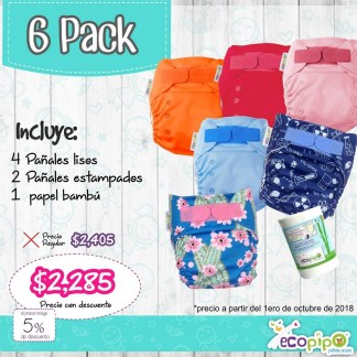 6 pack ecopipo