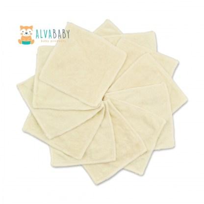 BW01 toallita de bambú alva