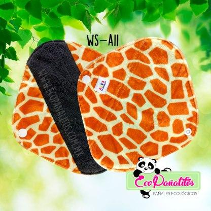 toalla sanitaria femenina ecológica alva baby ws-a11