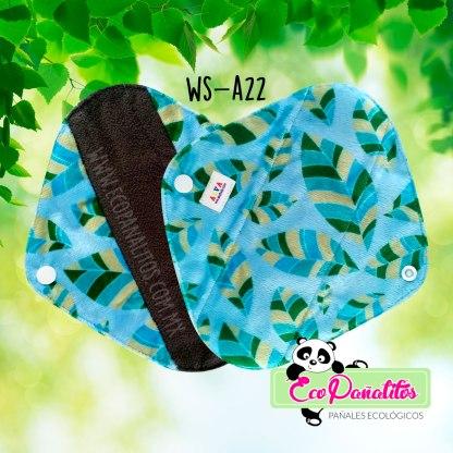 toalla femenina ecológica alva baby ws-a22