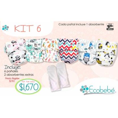 Kit 6 Ecobebé